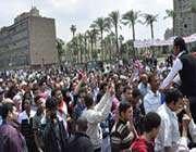 mısırda israil protestosu devam ediyor