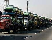 iran ın ilk otomotiv ihracatı türkiye ye ulaştı