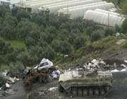 un tank de l'armée syrienne à banias le 10 avril.