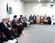 rencontre avec un groupe de citoyens, ulémas et responsables de la province du kurdistan