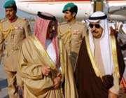 الملك البحريني ورئيس وزرائه