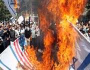 manifestation anti-américaine