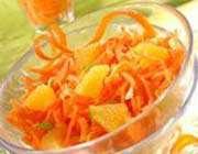 carottes à l'orange
