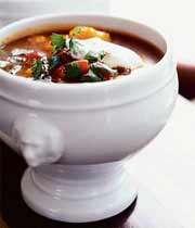 بيف اور پياز سوپ