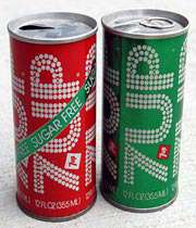 soda pop cans