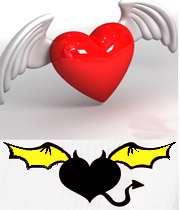 قلب مشرک کافر مومن