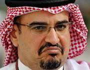 ولي العهد البحريني الشيخ سلمان بن حمد آل خليفة