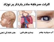 عوارض سرخجه در دوران بارداری