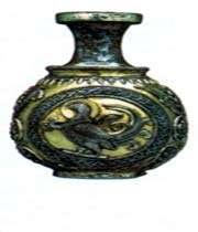 vase en argent doré, époque sassanide