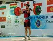 iranian weightlifter kianoush rostami