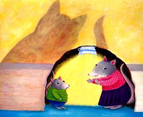 قصه ي موش كوچولو و مادرش