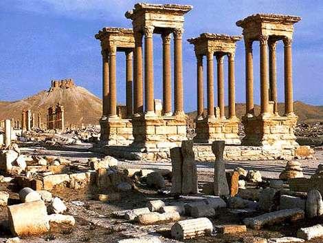ردپای ایران باستان در سوریه