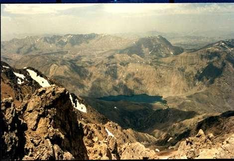 فیروزه ای ترین دریاچه غرب