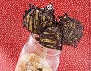 sucettes biscuitées au chocolat
