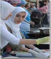 une fille musulmane