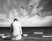 مرد دعا