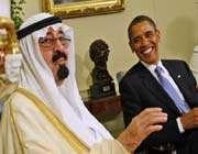 us president barack obama and saudi arabia's king abdullah bin abdul-aziz al saud