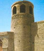 minaret de la mosquée meydan