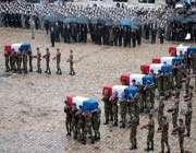 la cérémonie des sept soldats français