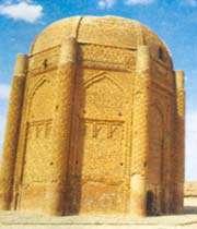 tours funéraires de kharaqan, fin du xie s