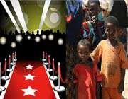 شکمسیران هالیوود و قحطی زدگان سومالی