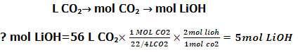 مسئله برای محاسبه استوکیومتری گازها