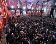 iranian shia muslims are holding mourning rituals in commemoration of the martyrdom anniversary of the third shia imam, imam hussein (pbuh).