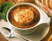 soupe à l'oignon
