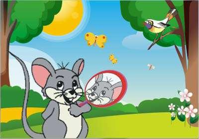 موش کوچولو و آینه