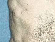 لمس تودههای چربی در زیر پوست