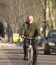 تغيير مسير ناگهاني دوچرخه سوار میبدی مرگ وي را رقم زد