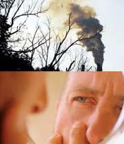 عوارض الودگی هوا روی پوست و مقابله با ان