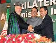 troisième sommet entre les chefs d'etat de l'iran, l'afghanistan et le pakistan