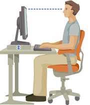 دفتر میں لگاتار کرسی پر مت بیٹھیں