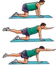 ورزش برای درد پشت و کمر