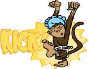 игра little playful monkey