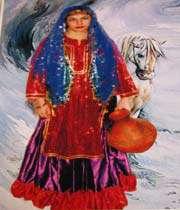 древнеперсидский костюм