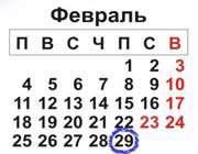 история и тайна 29 февраля