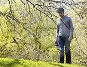 پیاده روری در فصل بهار
