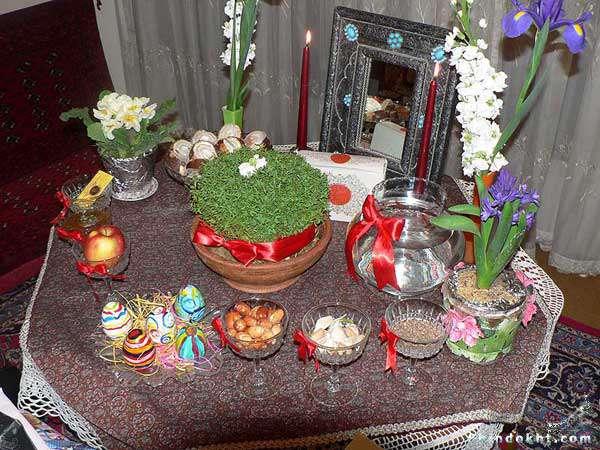 عکس سفره هفت سین عید نوروز
