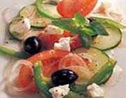 salade grecque aux légumes d'été