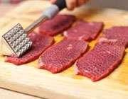 ترد کردن گوشت