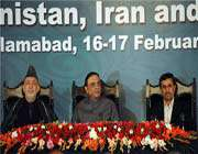 مؤتمر صحافي في اسلام اباد