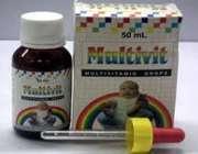 قطره مولتی ویتامین برای نوزاد