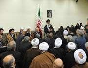 audience accordé aux responsables des trois pouvoirs de la république islamique d'iran