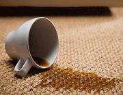 از بین بردن لكه روی فرش