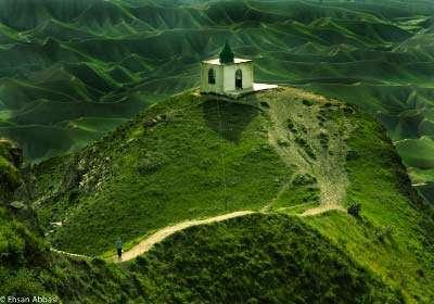 تپههای شانه تخممرغی