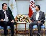 les présidents iranien et tadjik
