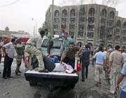 تفجير مقر الوقف الشيعي ببغداد