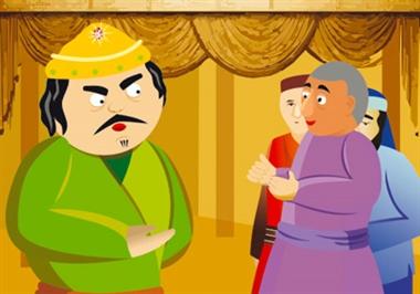 نتیجه تصویری برای نقاشی پادشاه و دختر قنداقی